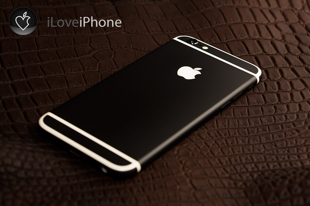 Черный iPhone 6 Ultimate Black